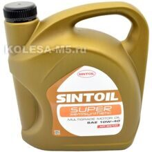SINTOIL Super 10W-40 SG/CD 4л